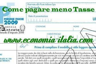 Come pagare meno tasse: qualche semplice trucco