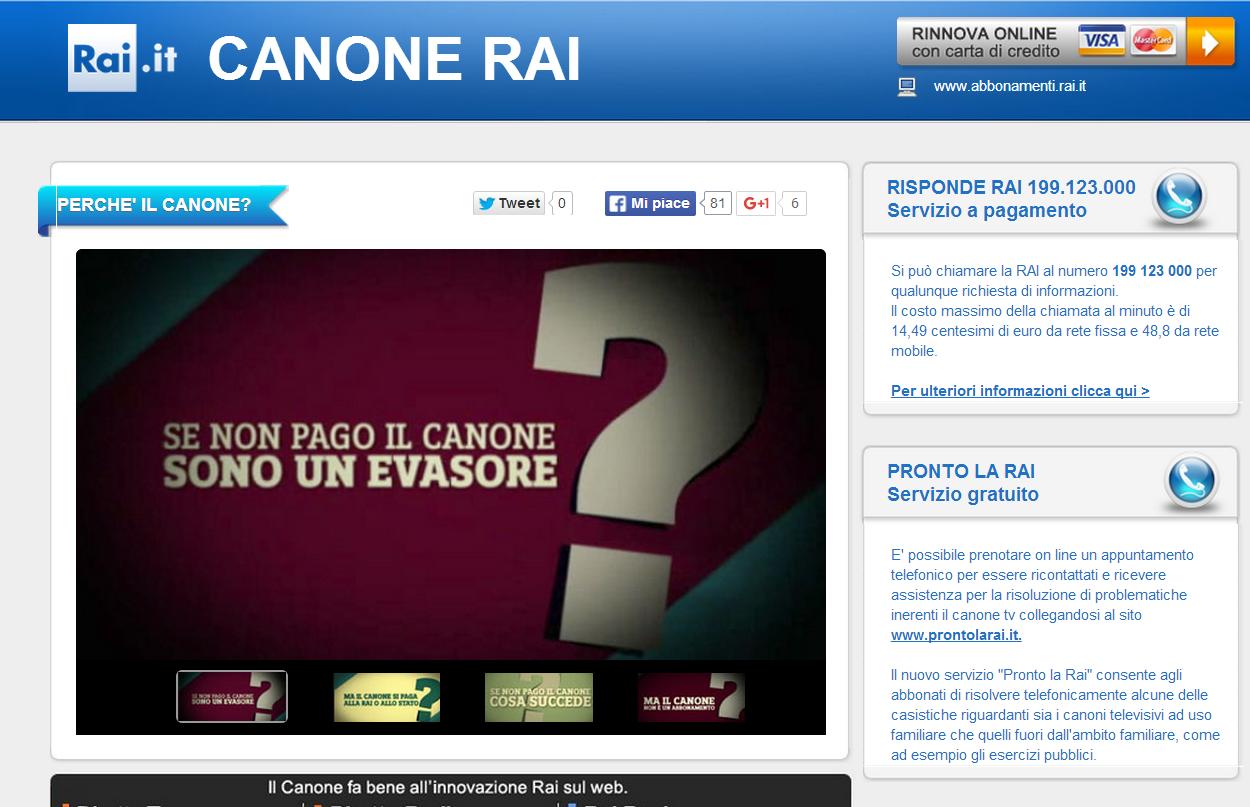 Canone RAI: Obbligo Di Conservare Il Pagamento Per 10 Anni!