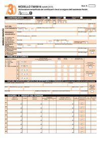 Modello 730 2018 precompilato novit compilazione for Scadenza dichiarazione redditi 2016