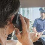 cellulare alla guida, sanzioni patente e multe