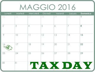 Tax day quand 39 la scadenza quali tasse da pagare tasse - Scadenza imposte 2017 ...