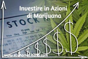Investire nella Canapa Legale Comprando Azioni