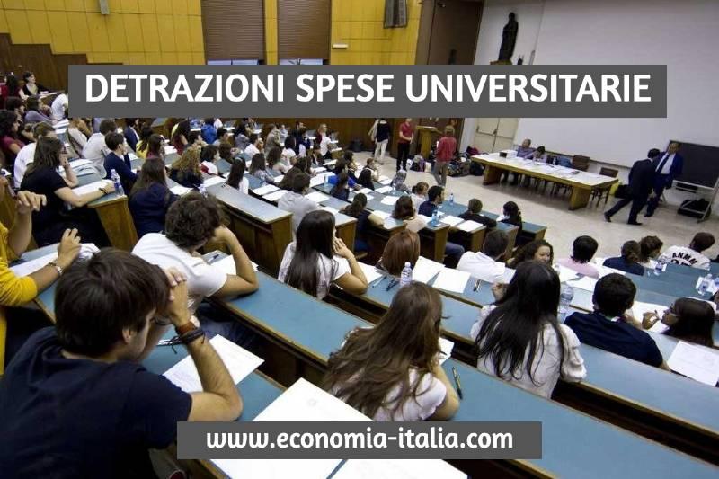 Detrazioni Spese Universitarie nel 730 - Dichiarazione dei Redditi ed Unico